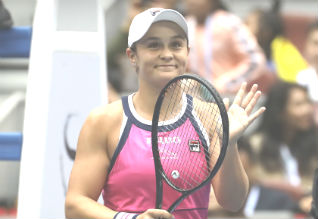 ashleigh barty, wta player tennis