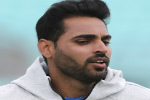 Bhuvneshwar Kumar trains in indoor nets session, india, cricket