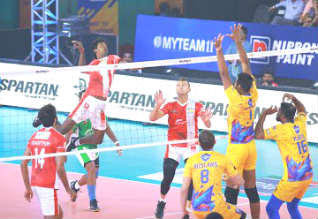 Pro Volley ball league, chennai, kochi