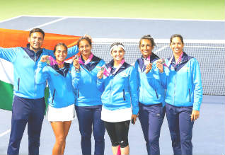 Ankita shines with two wins as India creates Fed Cup history